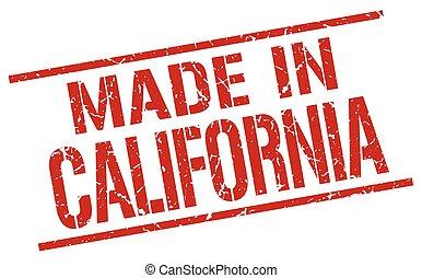 dupnutí, udělal, kalifornie