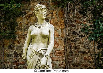 duque, granjas, 2, estatua