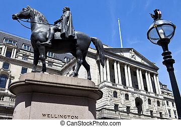 duque, inglaterra, wellington, londres, estátua, banco