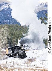 Durango and Silverton Narrow Gauge Railroad, Colorado, USA