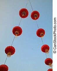 durante, linternas, chino