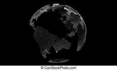 durchsichtiger globus