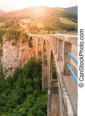 Durdevica arched Tara Bridge