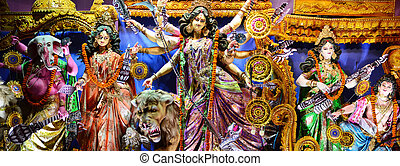 Durga puja - Durga idol