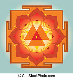 Durga Yantra vector illustration - Durga Yantra-vector...