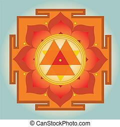 Durga Yantra vector illustration - Durga Yantra-vector...