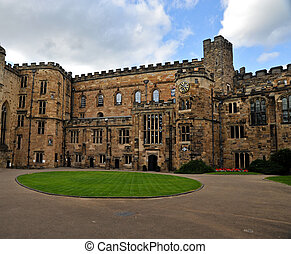 Durham castle courtyard