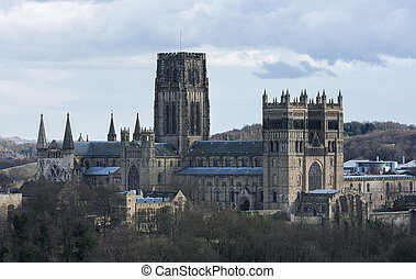 Durham Cathedral at winter