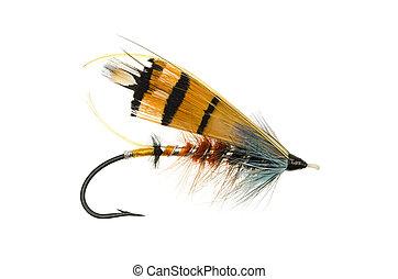 Durham Ranger Salmon Fly - Durham Ranger salmon fly shot...