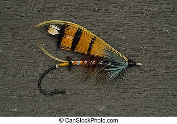 Durham Ranger Salmon Fly