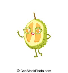 Durian Girly Cartoon Character