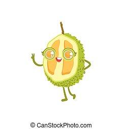 Durian Girly Cartoon Character