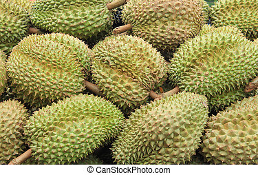 Durian in the market Thailand