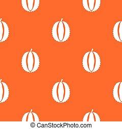 Durian pattern seamless