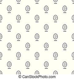 Durian pattern seamless vector