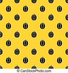 Durian pattern vector