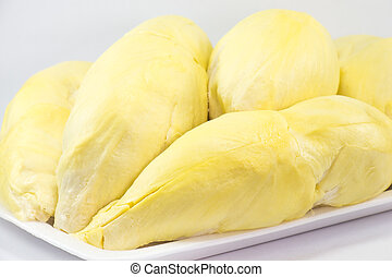 Durian the king of fruits in Thailand