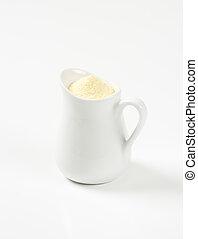 Durum wheat semolina flour