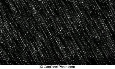 dusche, schleife, meteor