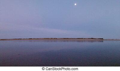Dusk Algarve Fuseta Ria Formosa - Fuseta, in Ria Formosa...