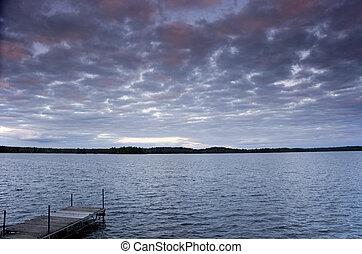 Dusk at the Lake 2