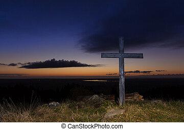 Dusk Hill Top Cross