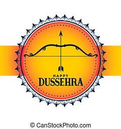 dussehra, baggrund, hindu, glade, hils, konstruktion,...