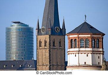 dusseldorf's, landemærker