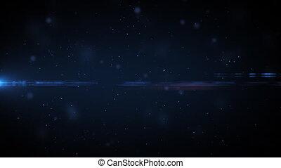 Dust in space HD. Loop.