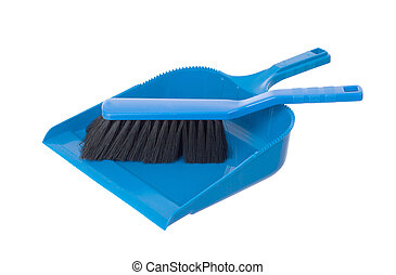 Dust pan and brush - Cleaning set of dust pan and brush