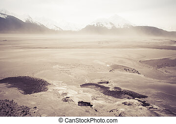 Dust Storm on the Chilkat