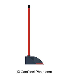dustpan icon design, Cleaning service wash and home theme Vector illustration