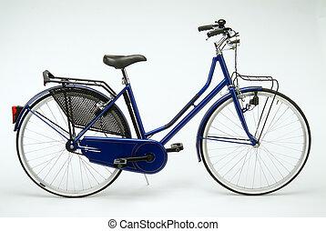 Dutch blue bicycle