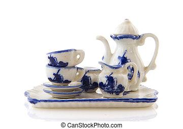 Dutch souvenir crockery for drinking coffee or tea