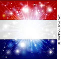 Dutch flag background - Flag of the Netherlands background...