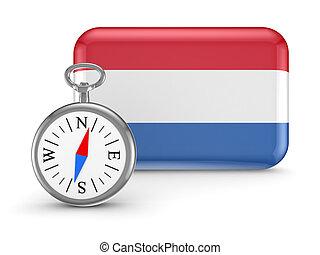 Dutch flag.