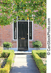 Dutch front door