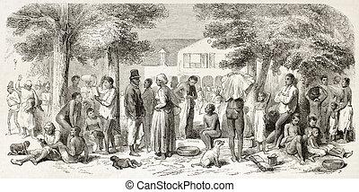 Dutch Guyana (at present days Suriname): clothes ...