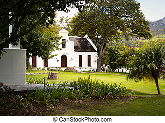 Dutch Homestead in South Africa