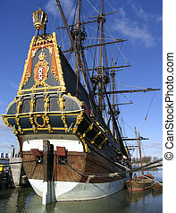 "Dutch tall ship 1 - The Dutch VOC ship, ""Batavia"""