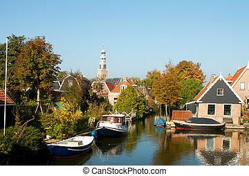 Dutch typical village