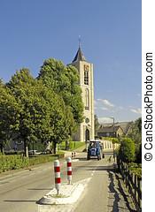 Dutch village church