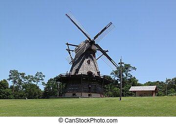 Dutch Windmill - A non operational windmill that was once...