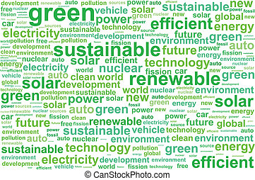 duurzaam, energie, schoonmaken, vernieuwbaar