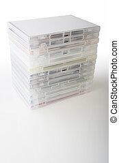 dvd, cajas