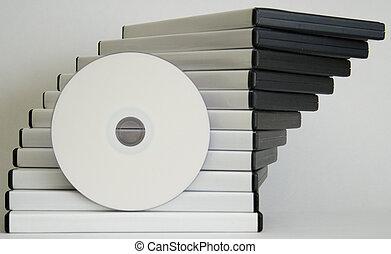 DVD cases + DVD