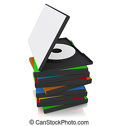 DVD Cases - 3d dvd case with blank cover