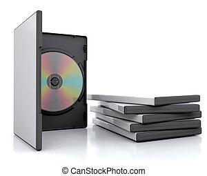 dvd, casos