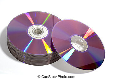 dvd, disc's
