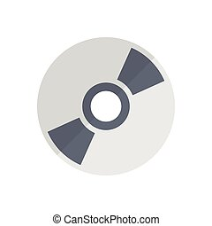 DVD  flat color icon